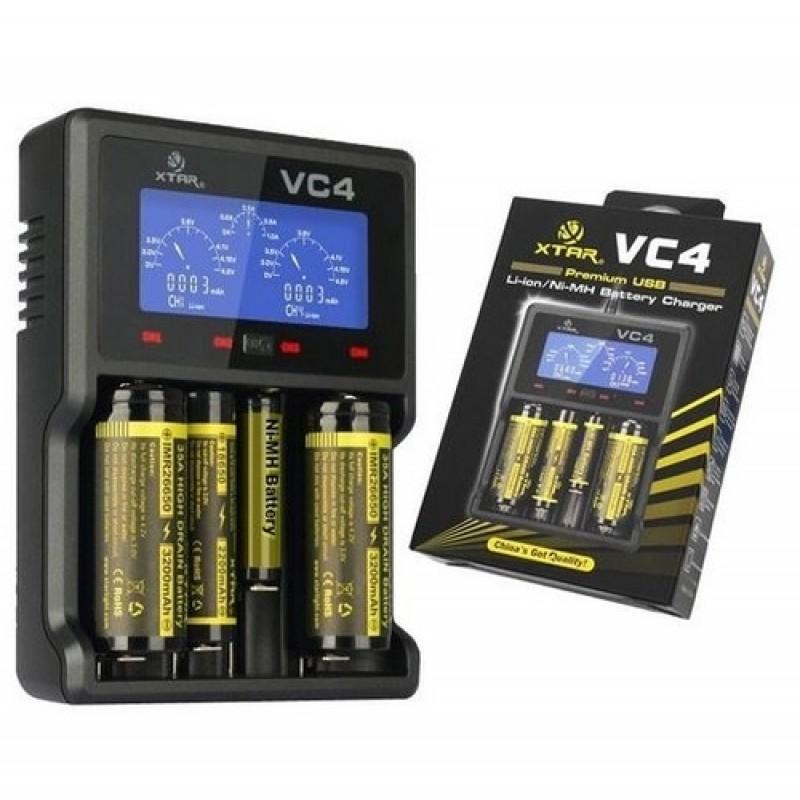 XTAR VC4 Li-ion/Ni-MH Battery Charger